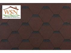 Tuiles marrons/noires en feutre bitumé - WSN