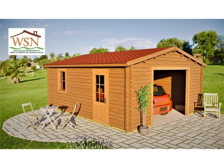 Garage 30m2 sans porte 5000x6000-passage 2400 | WSN