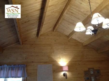 Bungalow en bois VOSGES 25,8m2 WS1141 | WSN