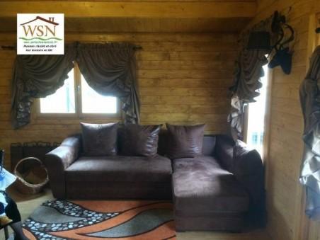 Bungalow en bois  CHARENTE 36m² Dim. (6000X6000-44mm)