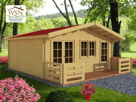 MOSELLE 24,6m2 (6000X4100-44mm) 1 pièce WS1194