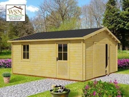 Garage 19,72m² (3400X5800-70mm)