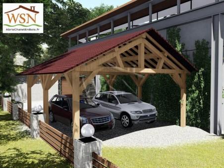 Carport2 5500x6000-2500 WS14115