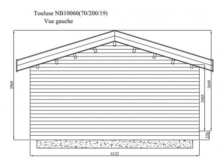 TOULOUSE 60m² (10000X6000-70mm) WS5147