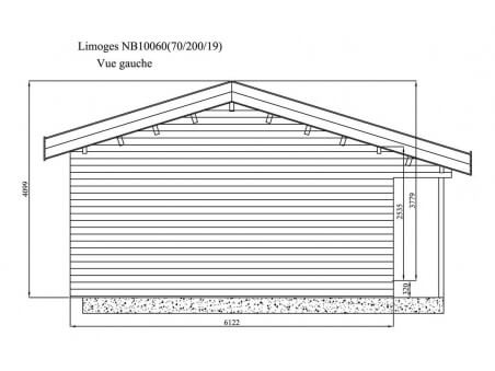 LIMOGES 60m² (10000X6000-70mm) WS5247