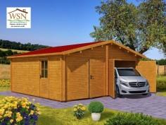 Garage 36m² avec cloison (6000X6000-44mm)