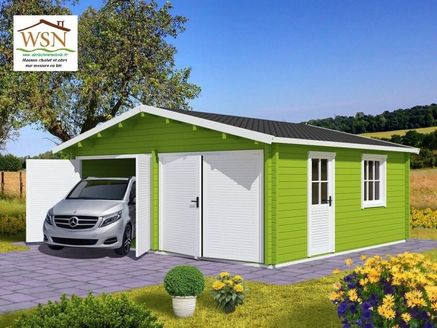 Garage 36m² (6000X6000-70mm)