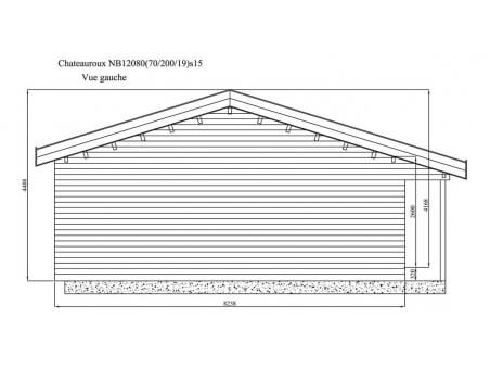 CHATEAUROUX 100m² (12258X8238-70mm) WS7257
