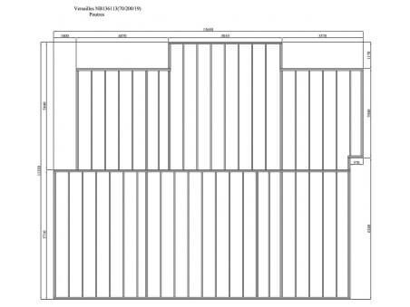 VERSAILLES 148m² (14128X11828-70mm) WS7570