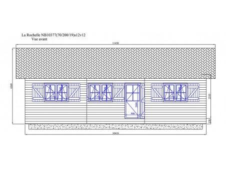 LA ROCHELLE 82m² (10418x7888-70mm) WS7627