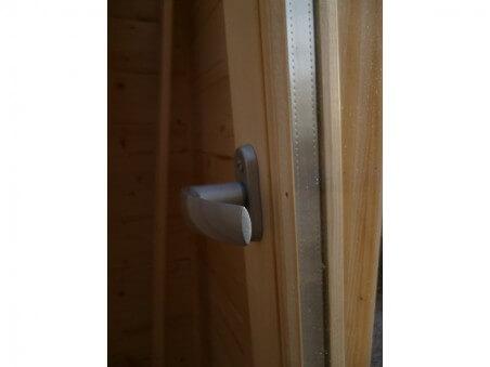 Abri en bois CHARENTE 19,8m² Dim. (4500X4400-70mm)