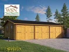 Garage en Bois 54m² (6000X9000-44mm) WS712