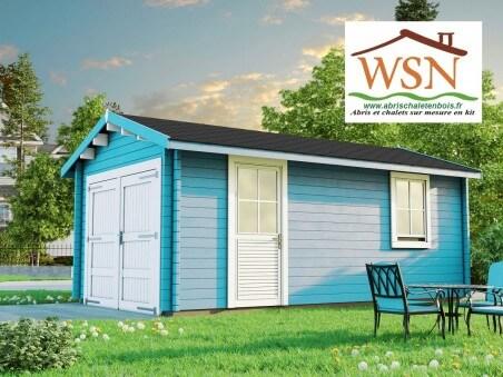 WSN – Garage en bois