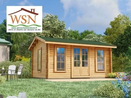 WSN – Abri en bois